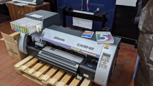Mimaki model CJV30-60 Print & Cut Eco Solvent Printer.