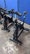 Origin model OC3 Spin Bike. Frame in commercial grade steel, chain drive, adjustable seat & handleba