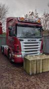 2008 Scania R420 6X2/4 tractor unit