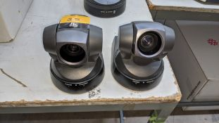 2 off Sony EVI-D100P video conference cameras