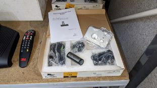 Revolabs Solo desktop wireless microphone system. NB lot 74 features another Solo microphone & lot