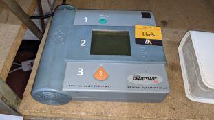 Laerdal Hewlett Packard Heartstart FR semi-automatic defibrillator