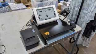 NCR Silver Quantum QR1000 point of sale terminal: this lot does not include the required Samsung ta
