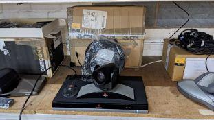 Polycom QDX6000 video conferencing unit including QDX/MPTZ-6 camera & SoundStation 2 microphone