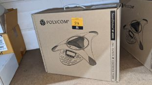 Polycom Full Duplex IP conference phone model SoundStation IP6000