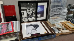 6 off large framed photos