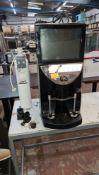Rijo 42 touchscreen coffee machine model Brasil ASD. Includes key & water filtration unit