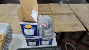 3 off vacuum jugs