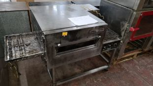 """Lincoln Impinger 18"""" conveyor gas pizza oven"""