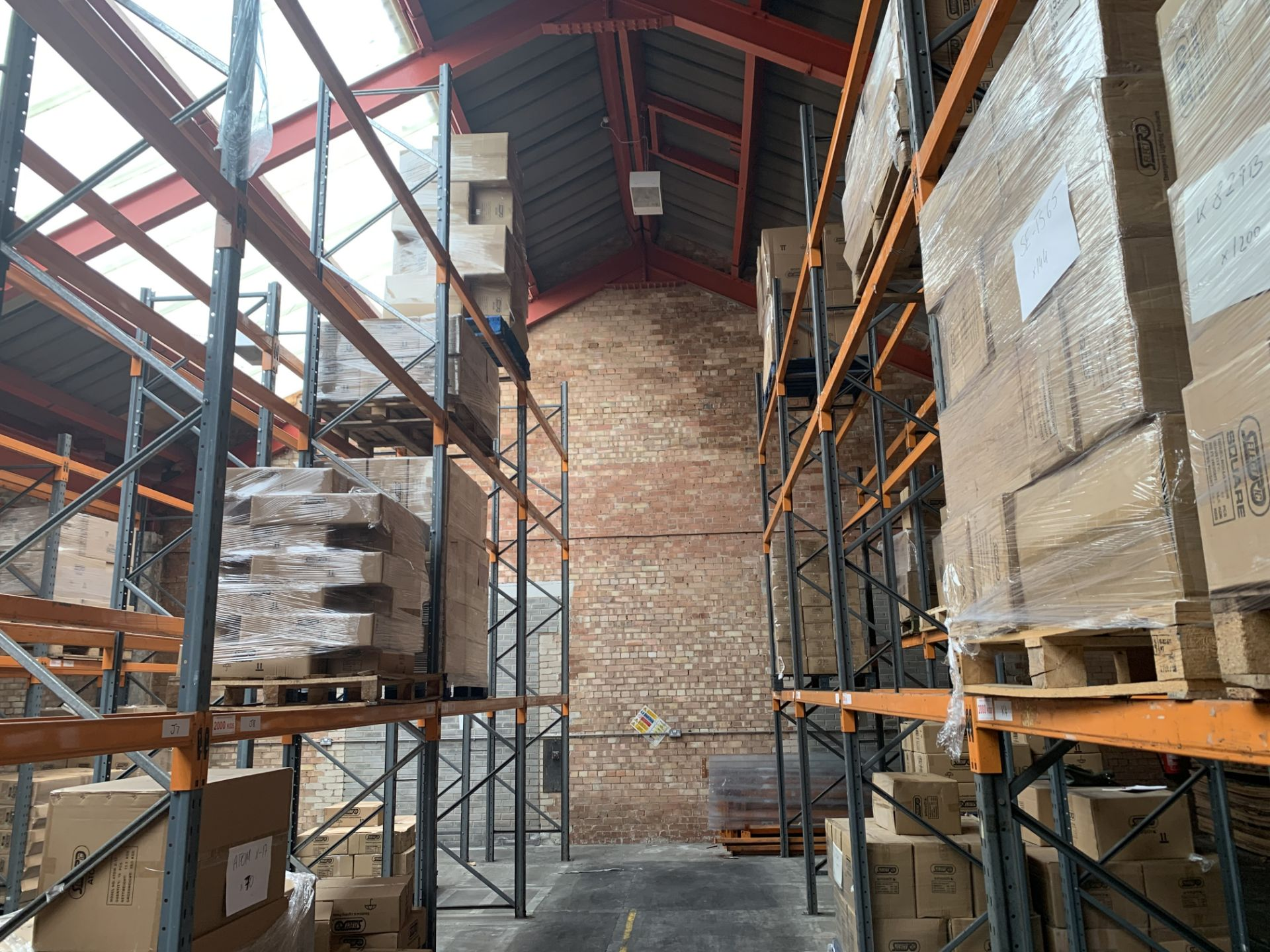 """Large quantity of Dexion Speedlock """"H"""" (Heavy Duty) Pallet Racking - Image 9 of 19"""