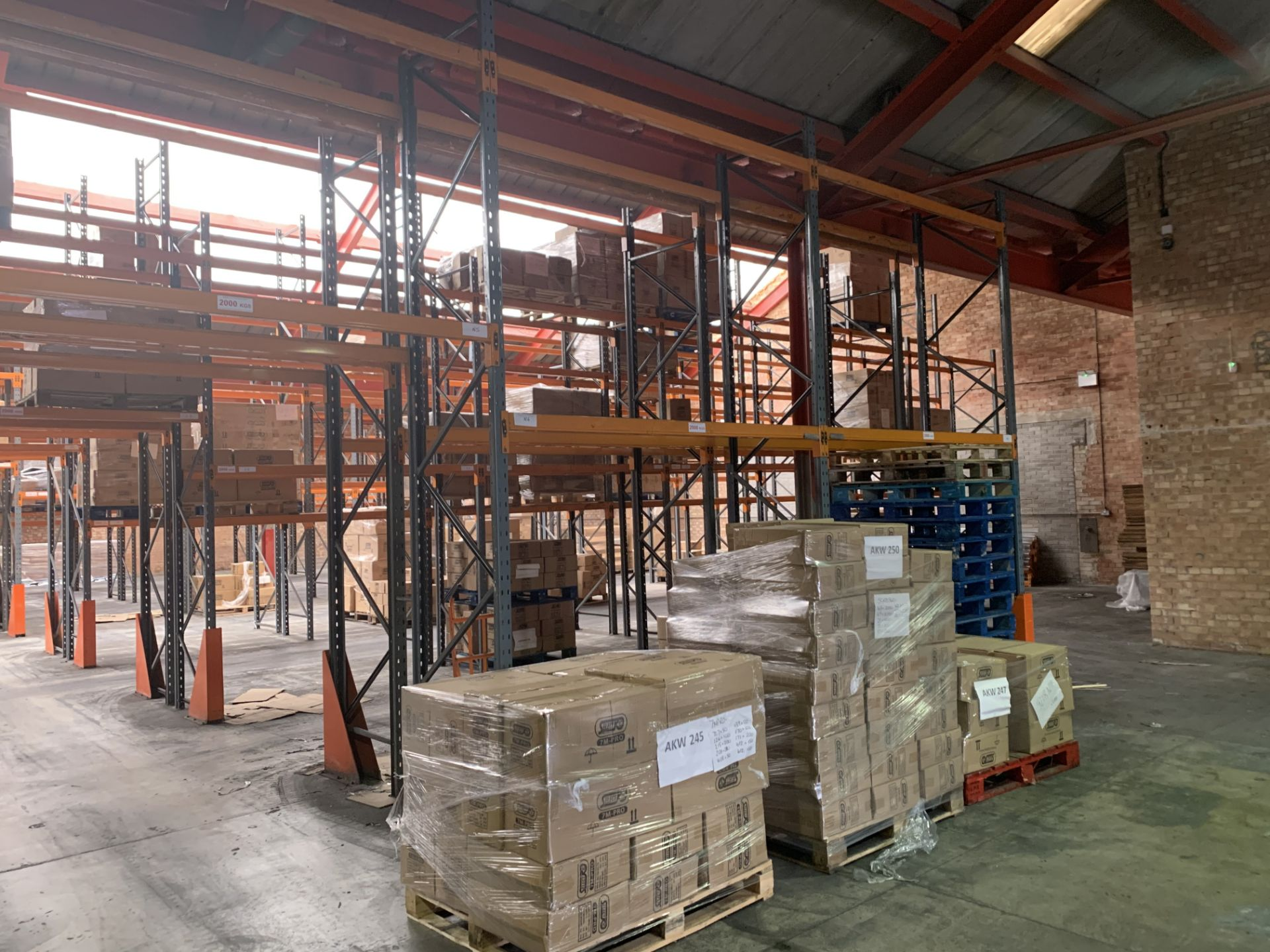 """Large quantity of Dexion Speedlock """"H"""" (Heavy Duty) Pallet Racking - Image 5 of 19"""