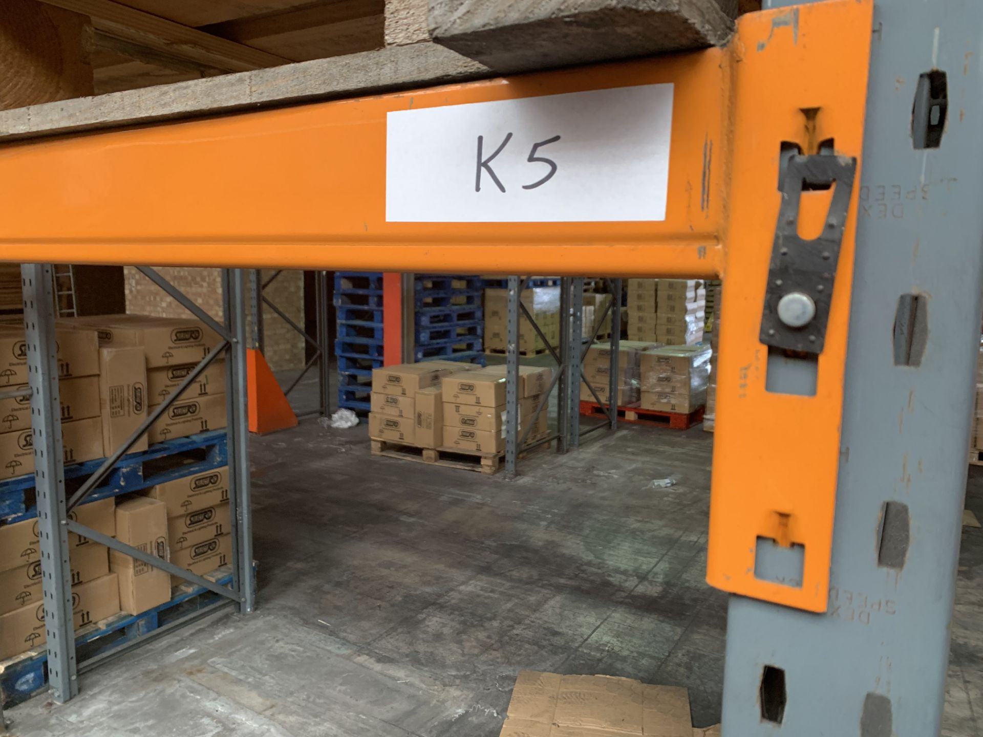 """Large quantity of Dexion Speedlock """"H"""" (Heavy Duty) Pallet Racking - Image 7 of 19"""