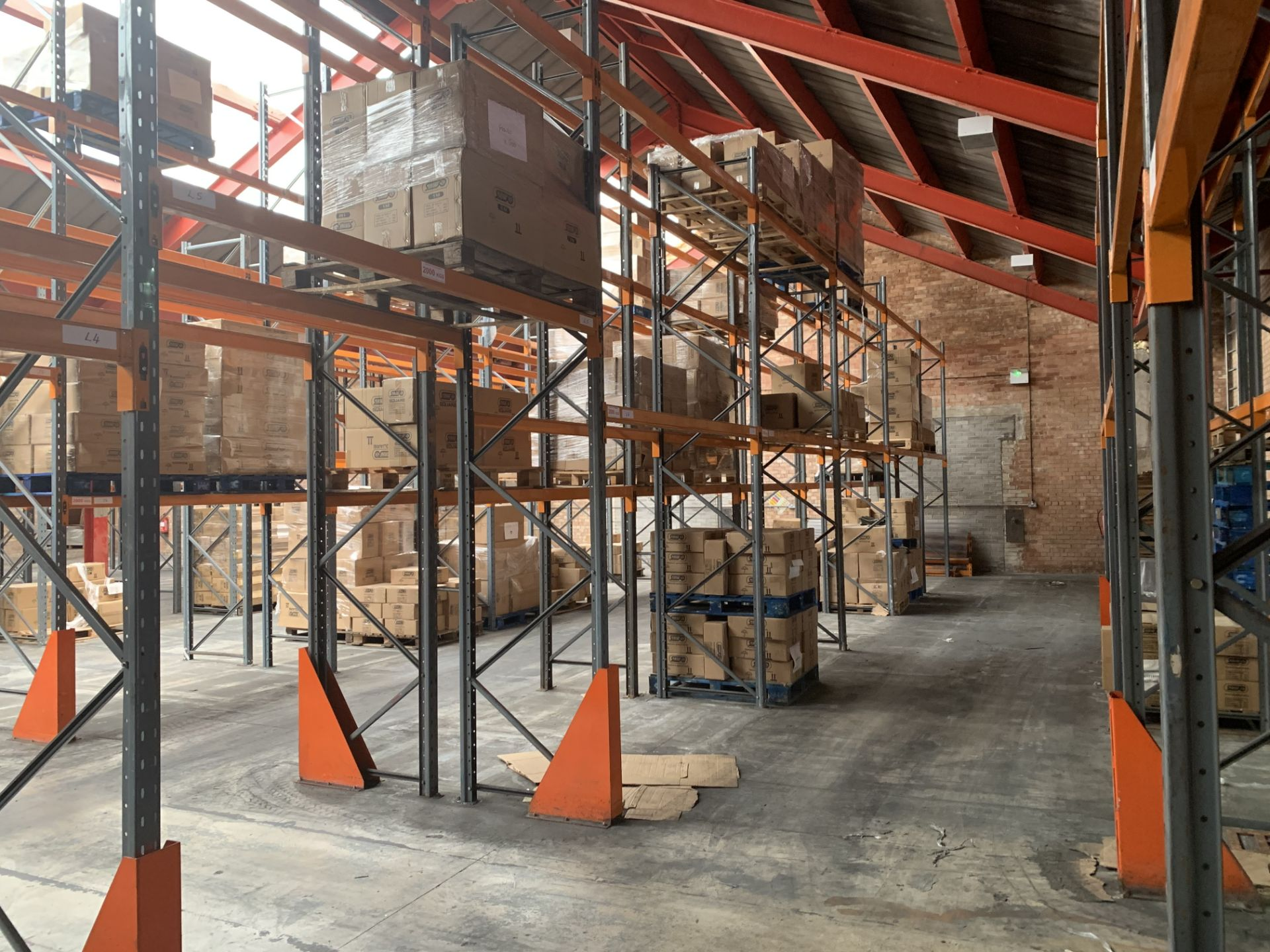 """Large quantity of Dexion Speedlock """"H"""" (Heavy Duty) Pallet Racking - Image 4 of 19"""
