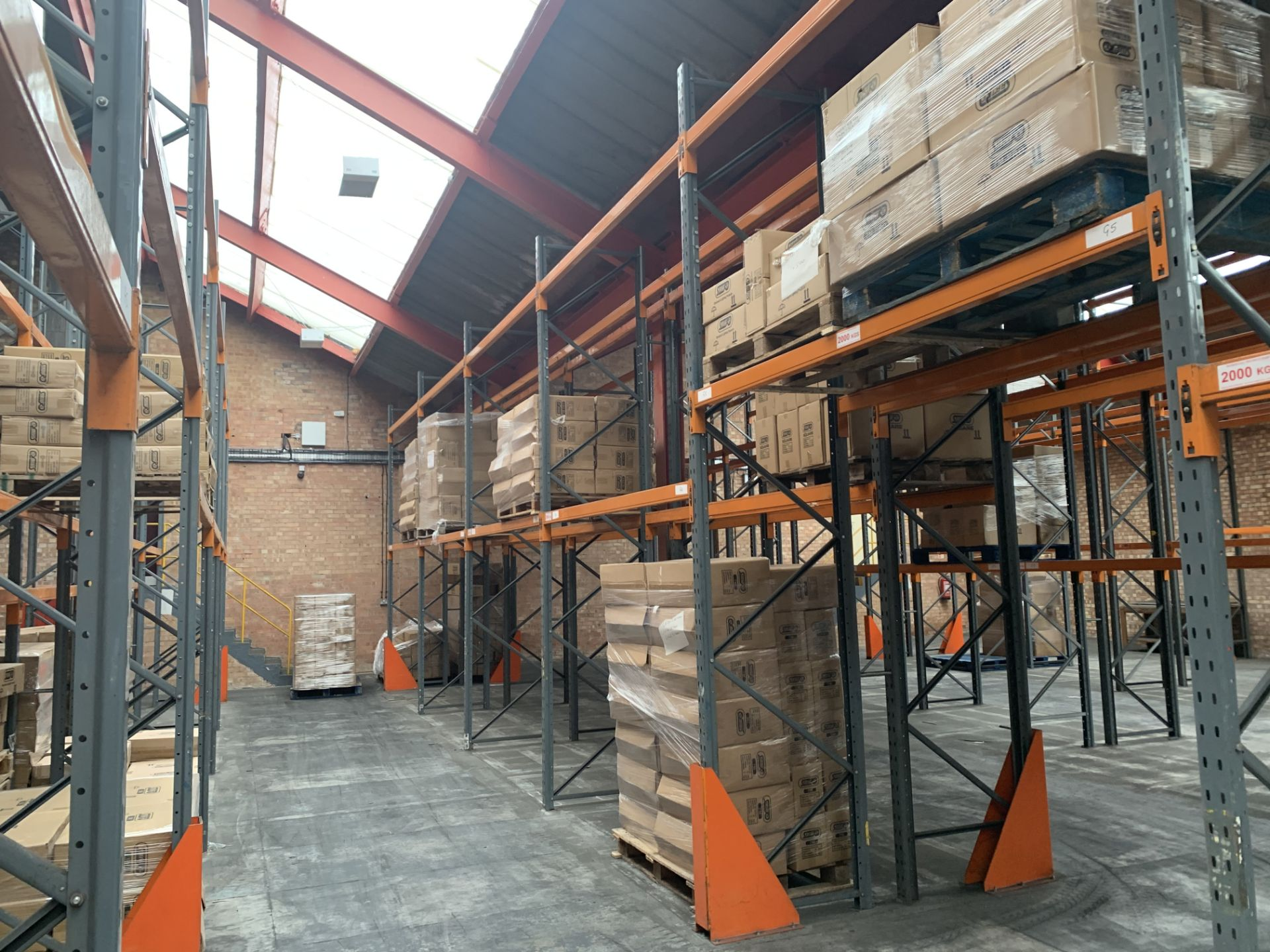 """Large quantity of Dexion Speedlock """"H"""" (Heavy Duty) Pallet Racking - Image 10 of 19"""