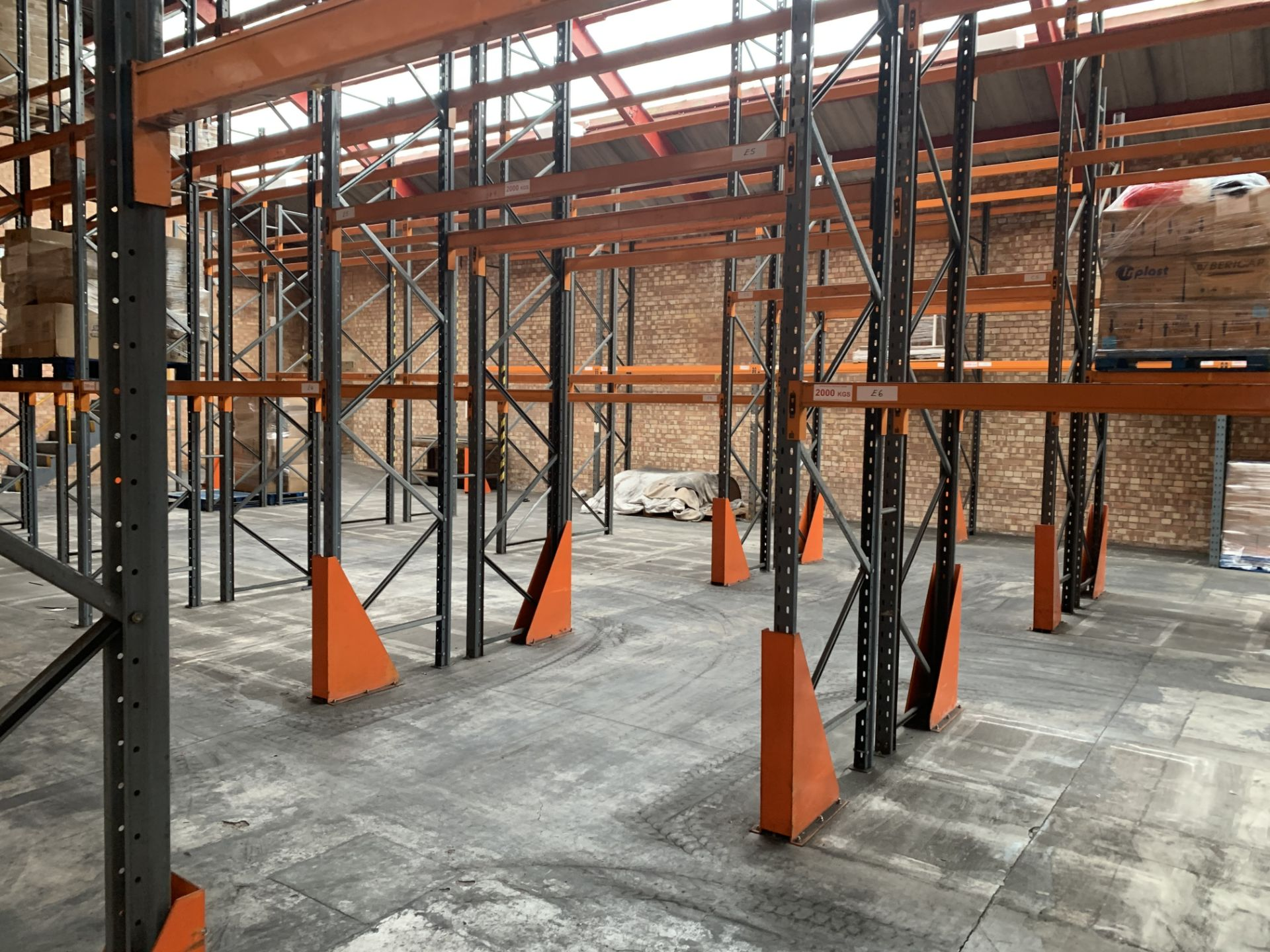 """Large quantity of Dexion Speedlock """"H"""" (Heavy Duty) Pallet Racking - Image 11 of 19"""