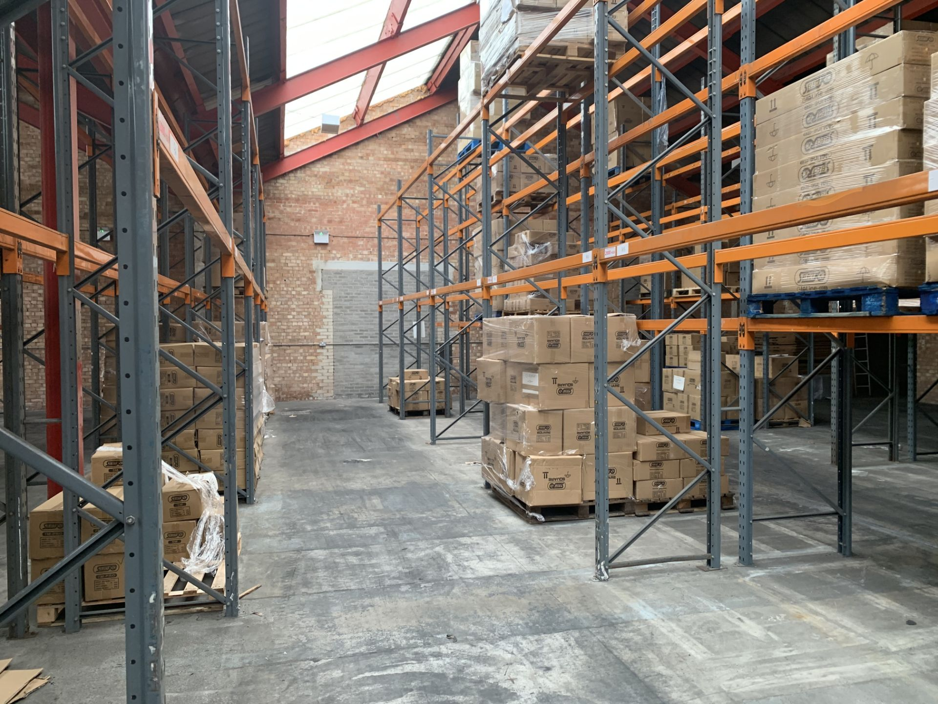 """Large quantity of Dexion Speedlock """"H"""" (Heavy Duty) Pallet Racking - Image 14 of 19"""
