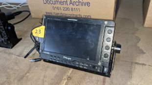 TVLogic multi format LCD monitor model LVM-074W, including hinged bracket - NB No power supply