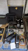 Navtech Director's Long Range Wireless Video Monitor kit in heavy-duty flight case