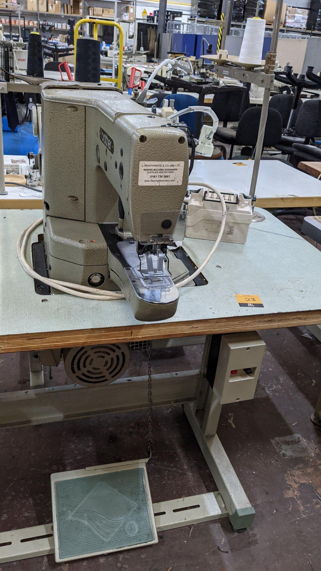 Brother bar tack sewing machine model LK3-B430-2 - Image 11 of 15