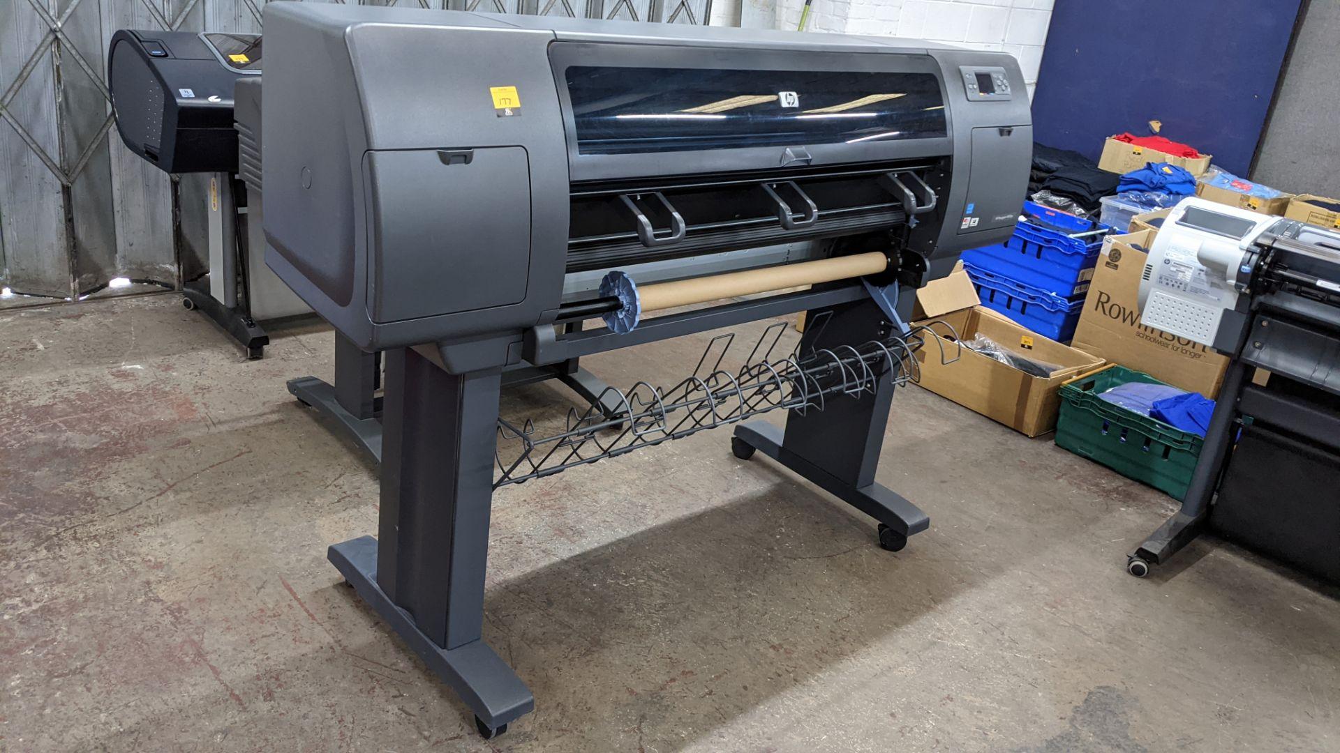 "HP DesignJet 4000ps wide format printer, model Q1274A (42"") - Image 3 of 7"