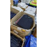 Approx 17 off assorted polo shirts by Four Circles in blue, burgundy & grey - 1 large box