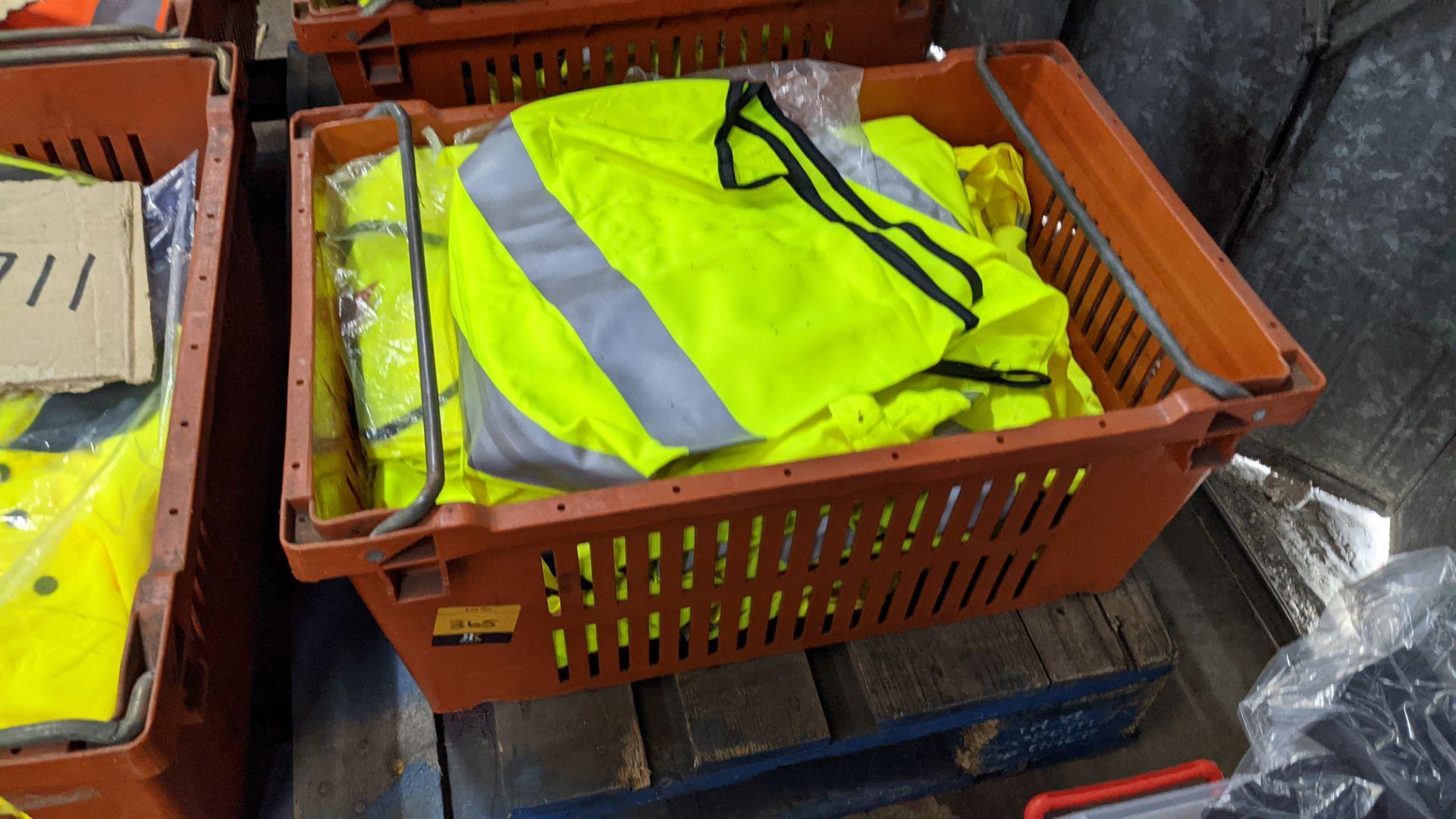 20 off yellow hi-vis vests - Image 2 of 5