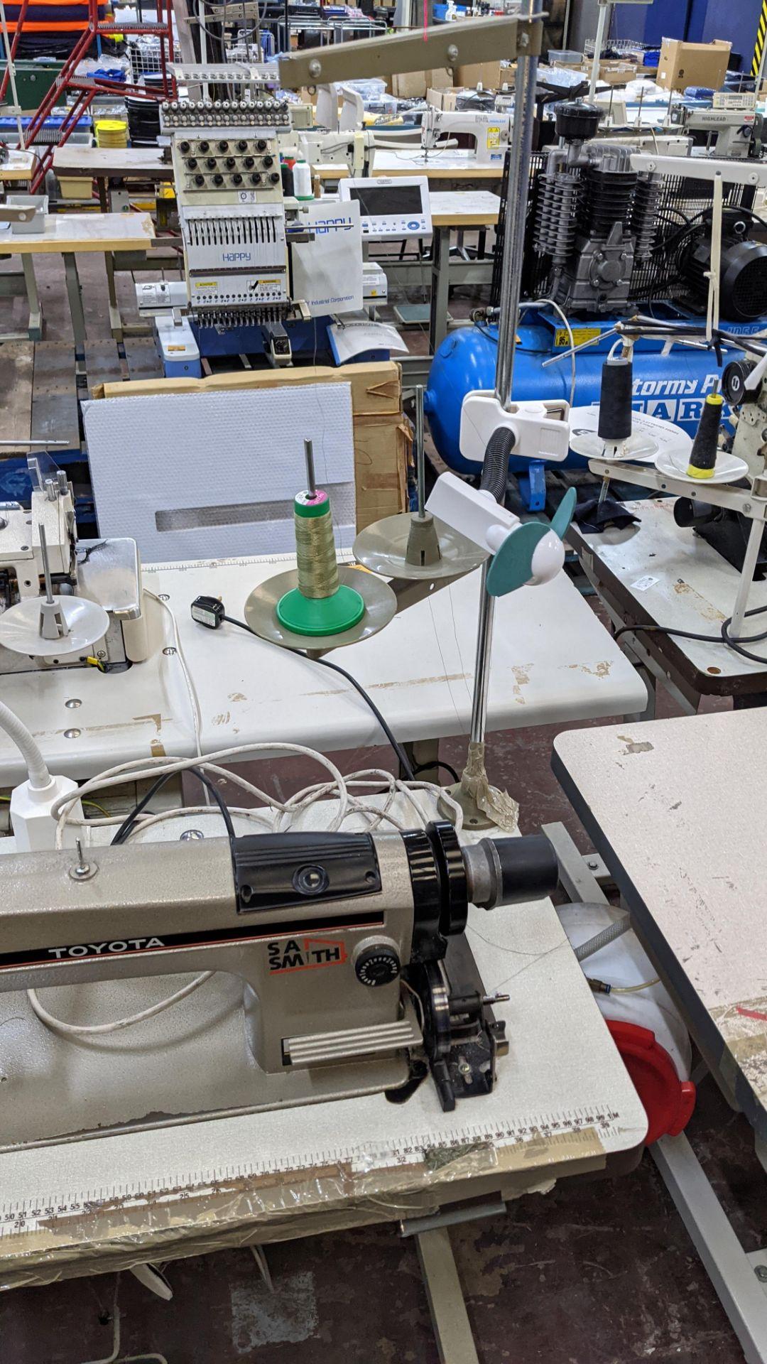 Toyota sewing machine - Image 16 of 17