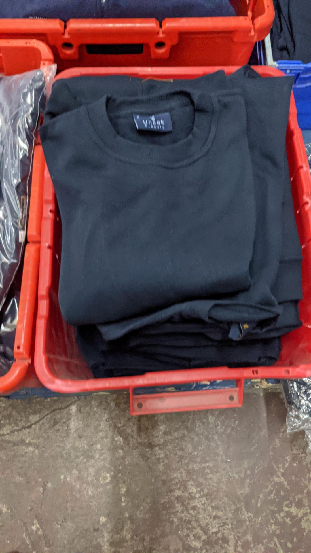 Approx 12 off navy sweatshirts - Image 3 of 5