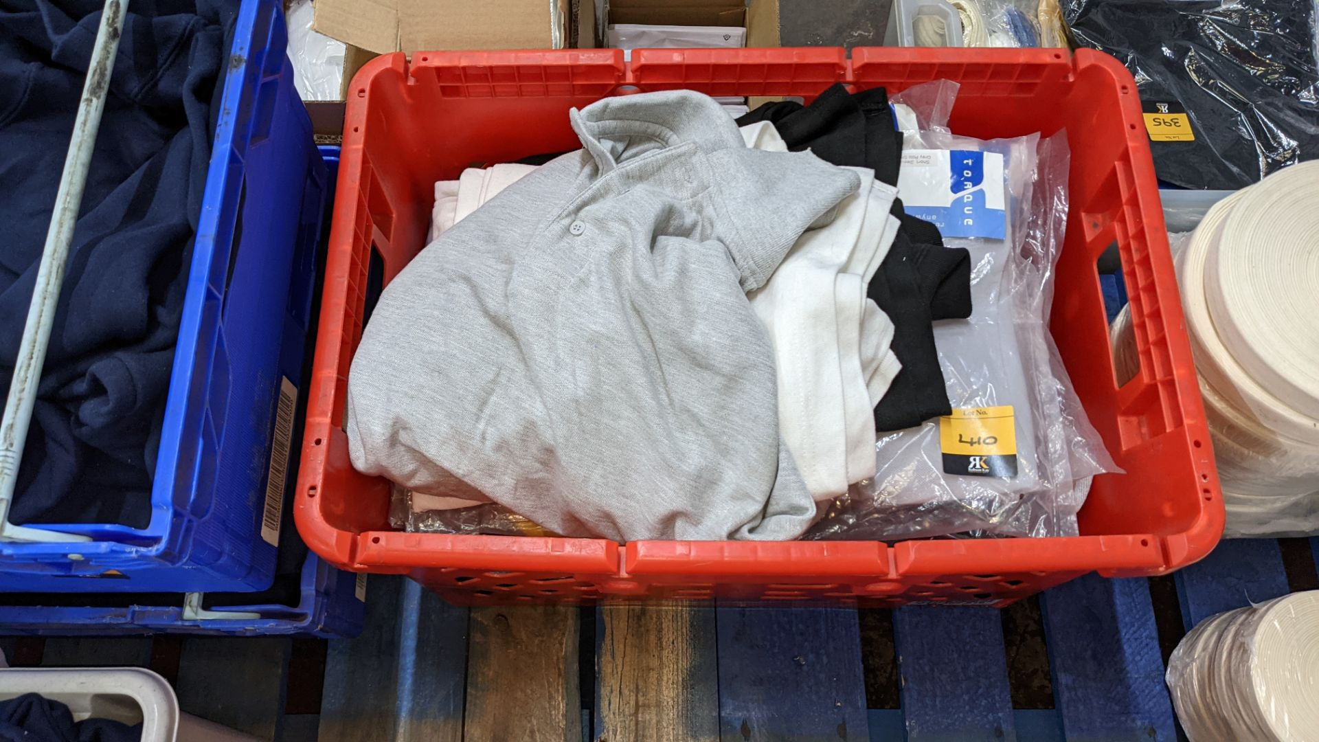 Quantity of assorted polo shirts & similar - the contents of 1 large crate - Image 2 of 6