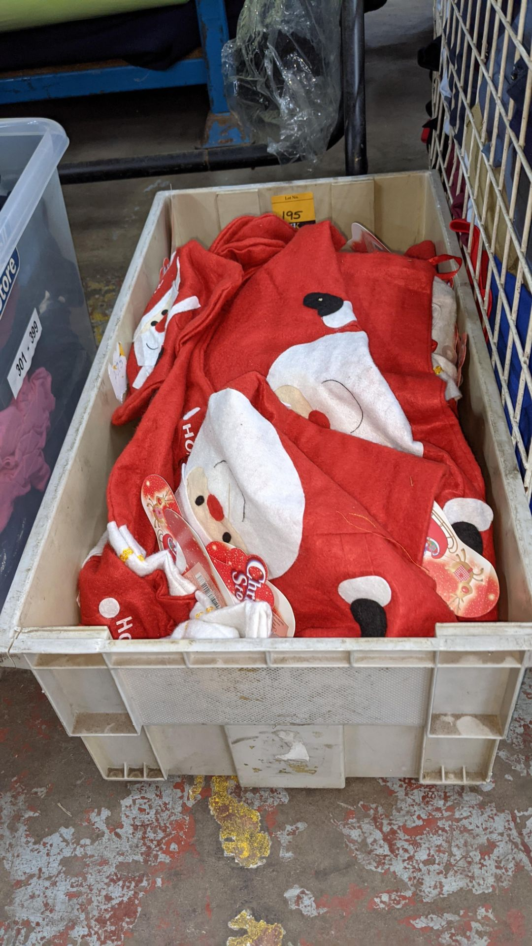 Quantity of Christmas stockings, Christmas sacks & other Christmas related items - Image 2 of 3