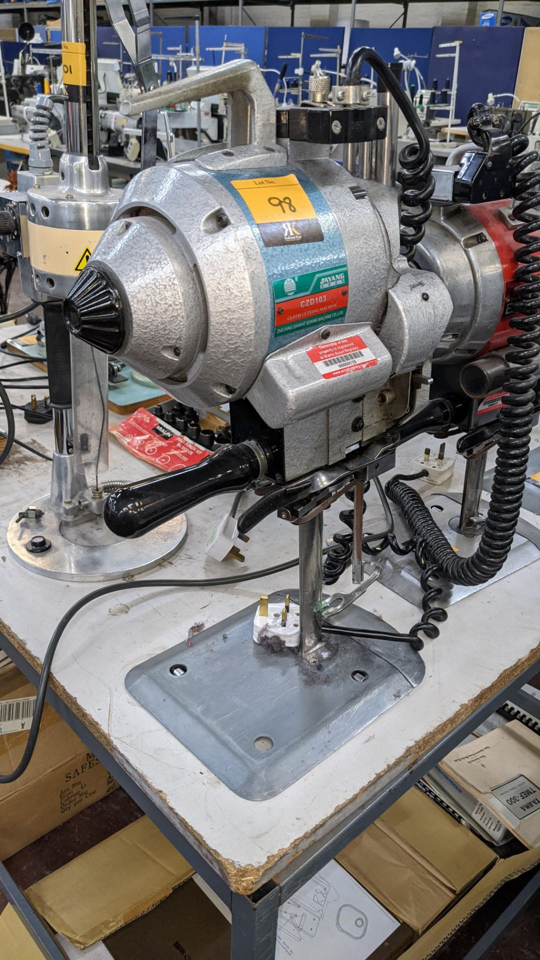 Ayang model CZD103 electric cutter - Image 2 of 6