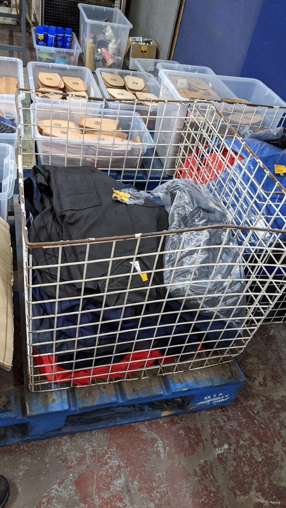 The contents of a cage of Protal flame retardant work clothing. NB cage excluded - Image 2 of 6