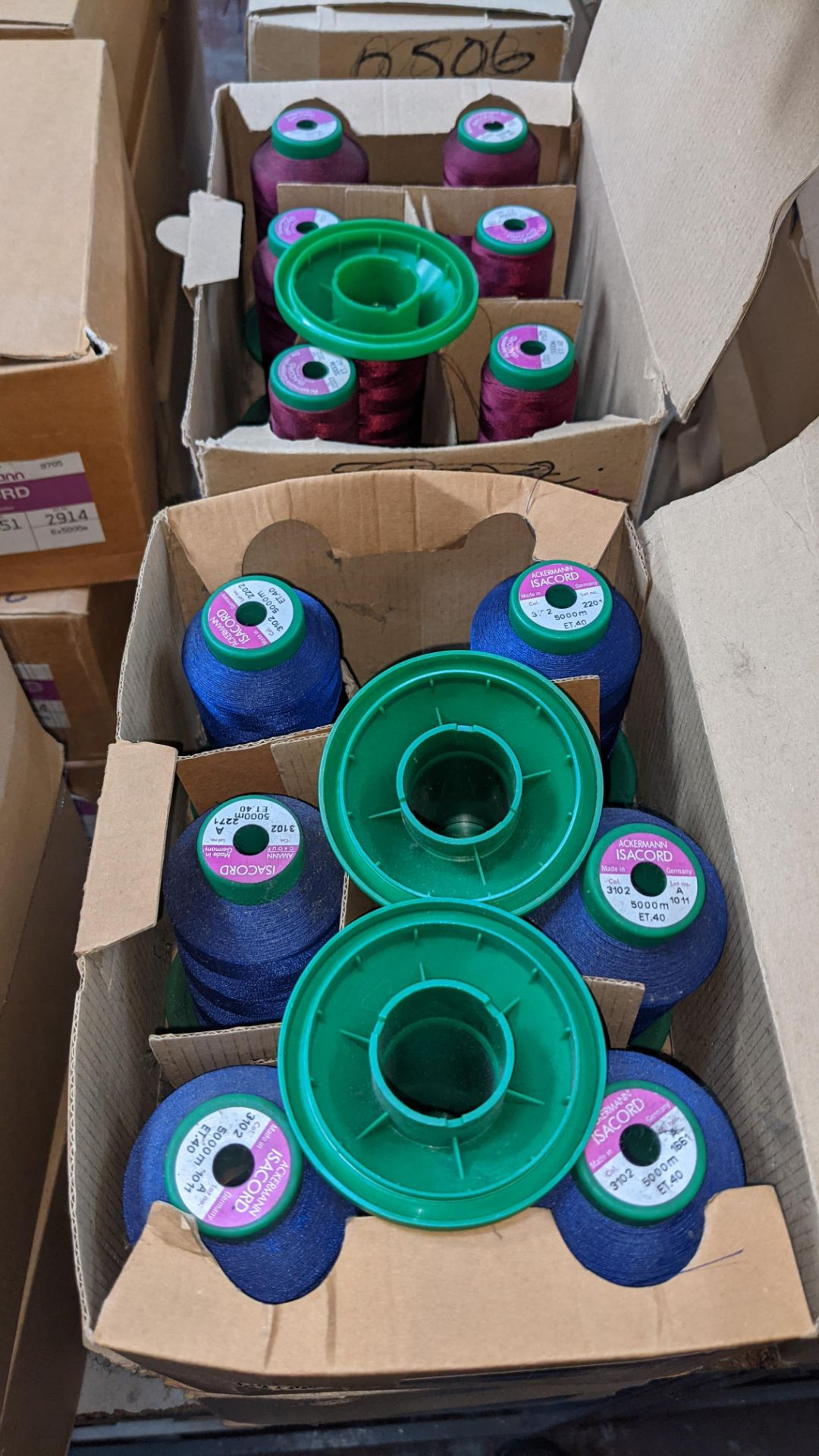 12 boxes of Ackermann Isacord (40) polyester thread - Image 7 of 9