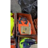 13 off hi-vis polo shirts (orange)