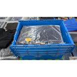 15 off workwear blue sweatshirts - the contents of 1 crate. NB crate excluded