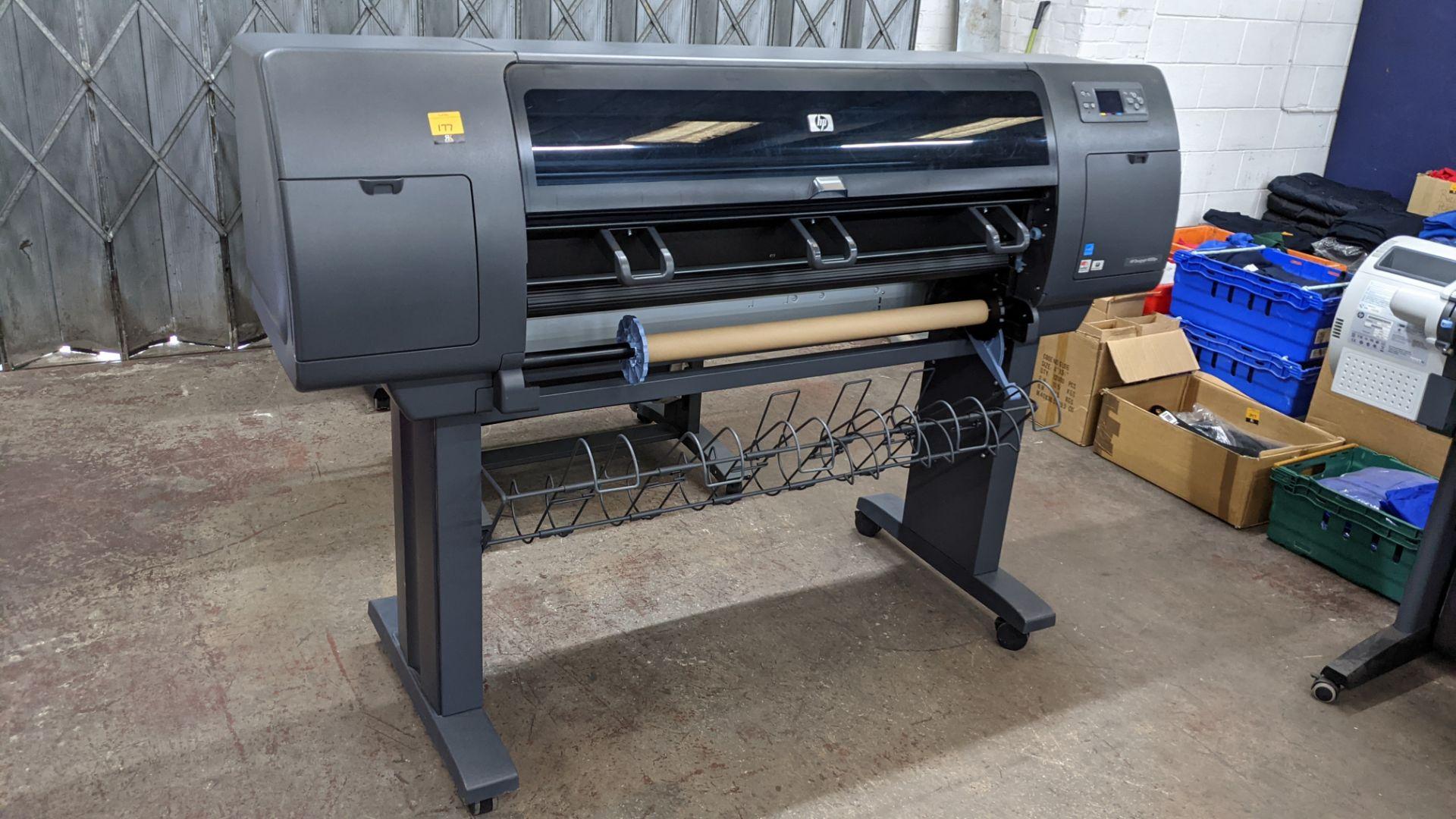 "HP DesignJet 4000ps wide format printer, model Q1274A (42"") - Image 4 of 7"