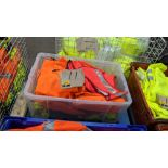 11 off assorted hi-vis garments