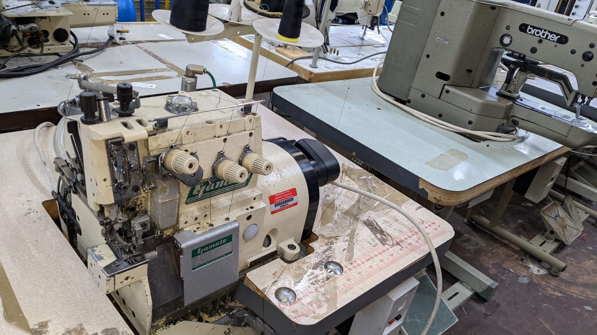 Yamato overlocker, model AZR8420-YSDF - Image 6 of 15