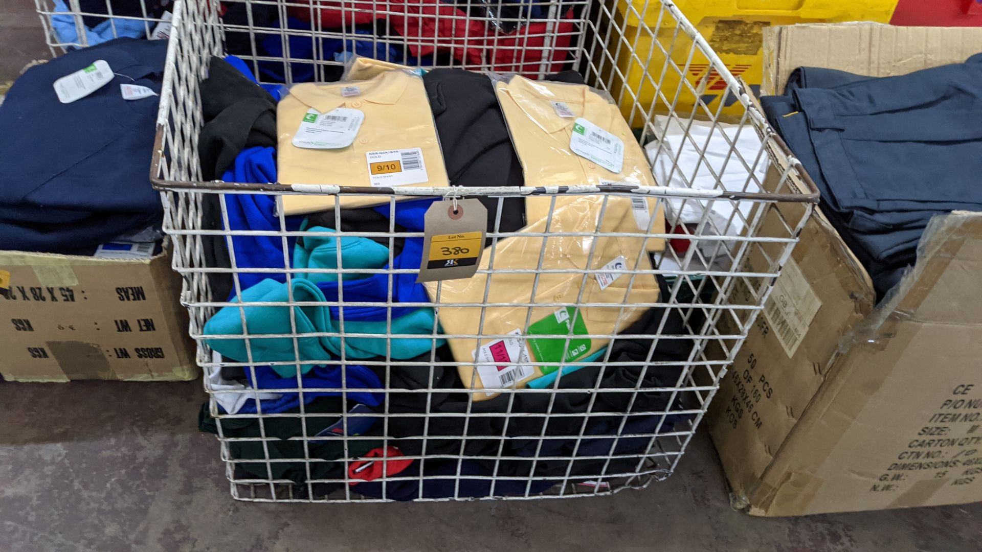 The contents of a cage of assorted children's garments - Image 3 of 5