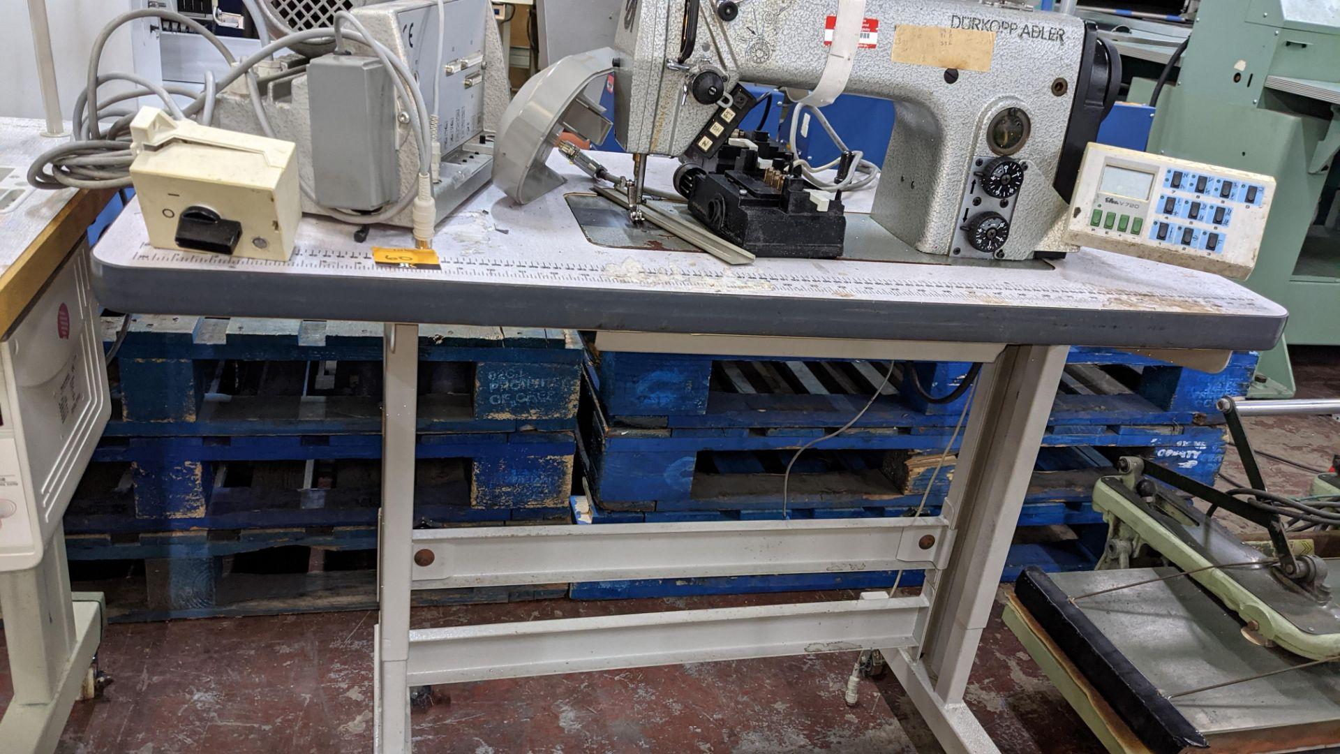Durkopp Adler type 0271-L40042 sewing machine - Image 17 of 19
