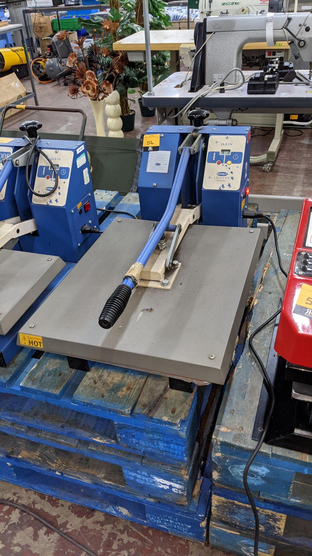 Europa Jarin benchtop heat transfer press model HF5000 - Image 2 of 13