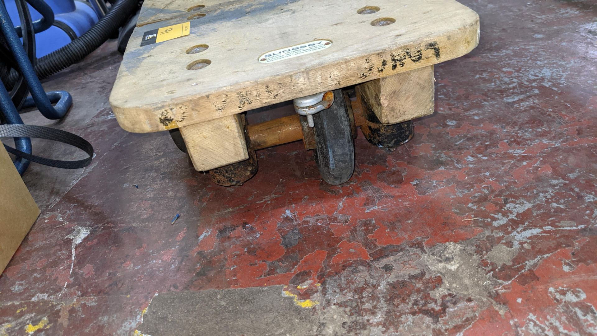 Slingsby small 4 wheel dolly - platform 460mm x 310mm - Image 5 of 5