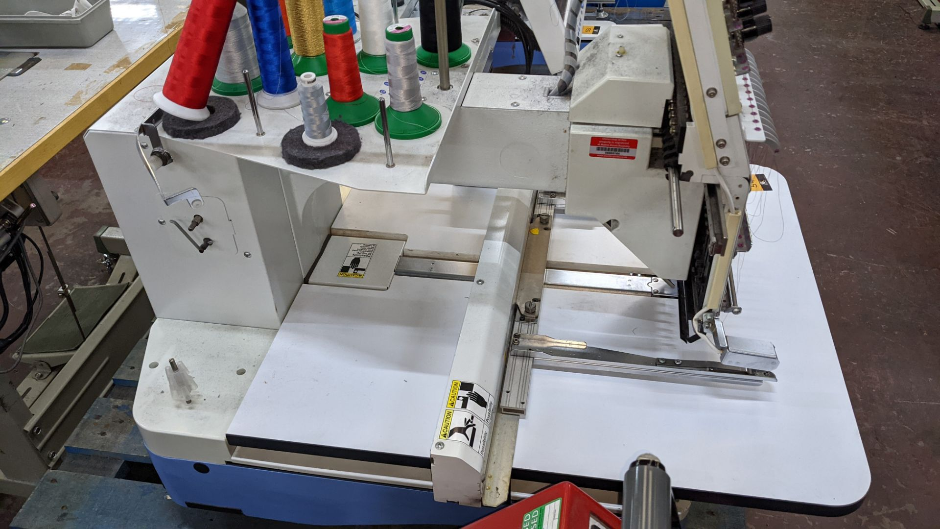 Happy single head embroidery machine model HCD-1501-40 - Image 16 of 22