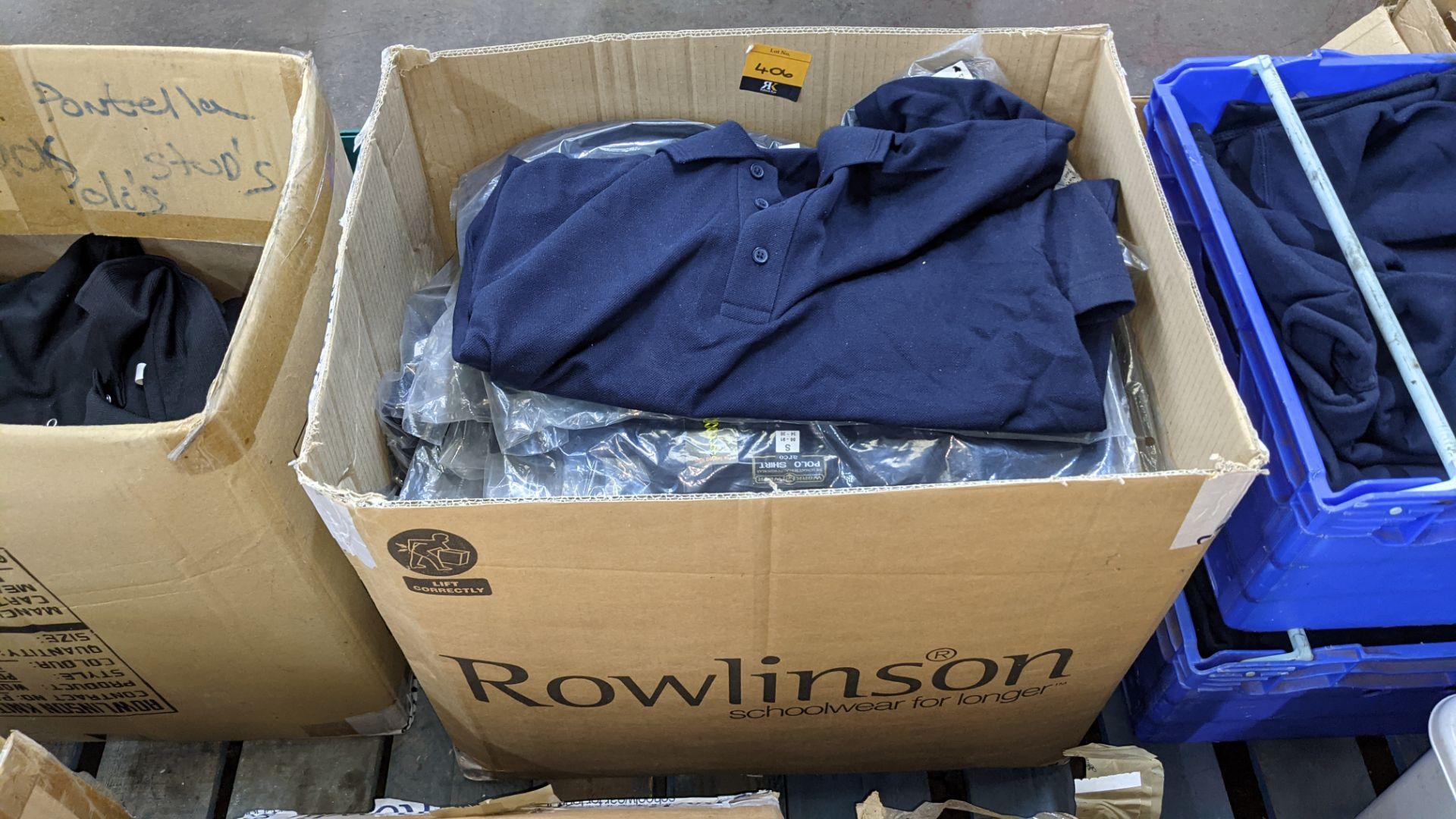 Quantity of blue polo shirts - Image 2 of 4