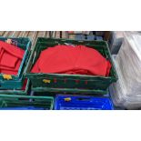 Approx 18 off Sportex children's assorted sweatshirts - the contents of 2 crates. NB crates exclude