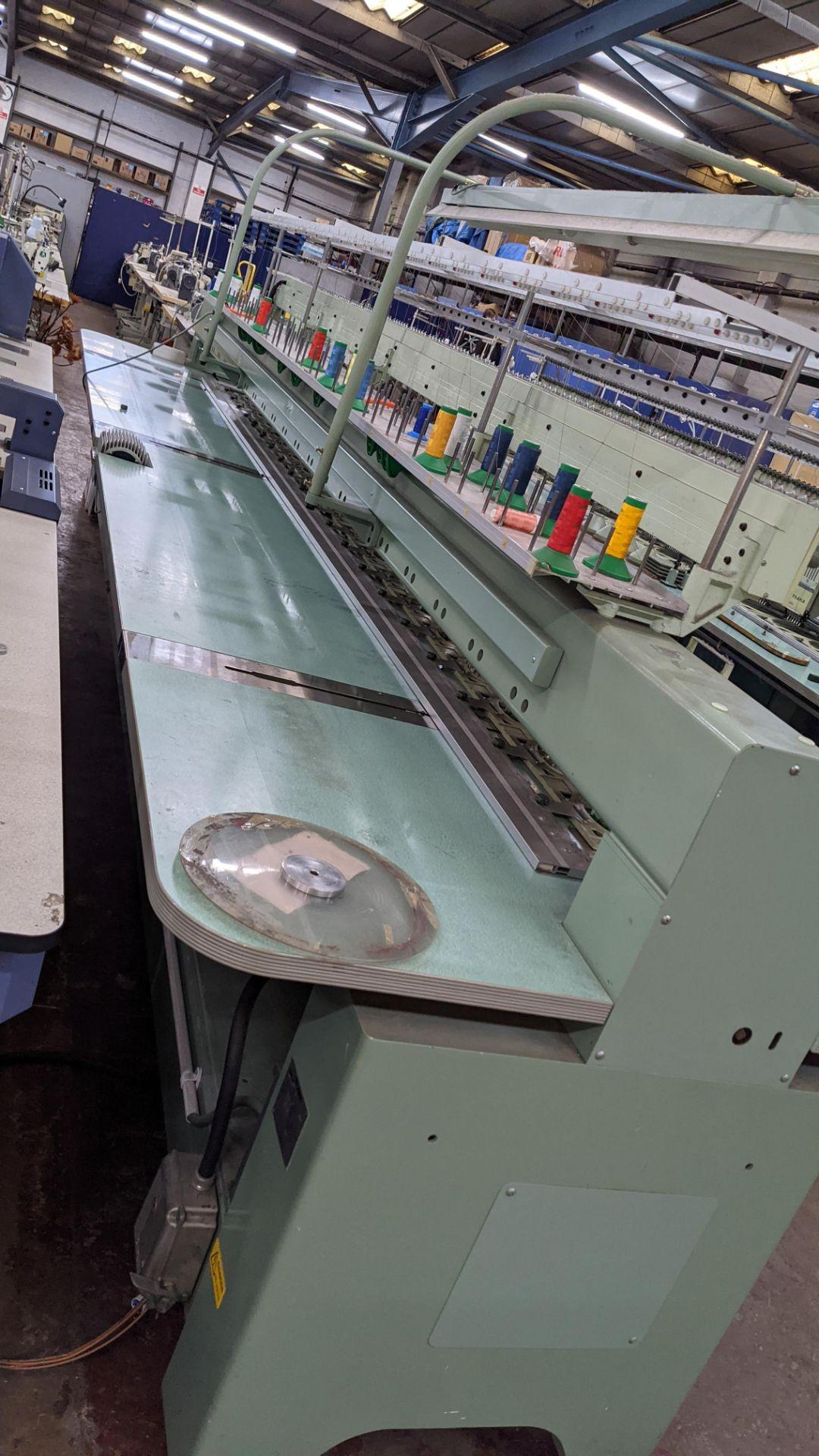 Tokai Tajima electronic 20 head automatic embroidery machine model TMEF-H620 - Image 16 of 25