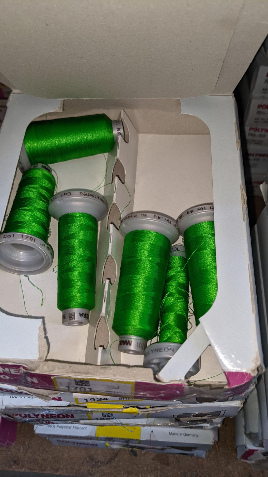 14 boxes of Madeira No. 40 Polyneon embroidery thread - Image 6 of 7