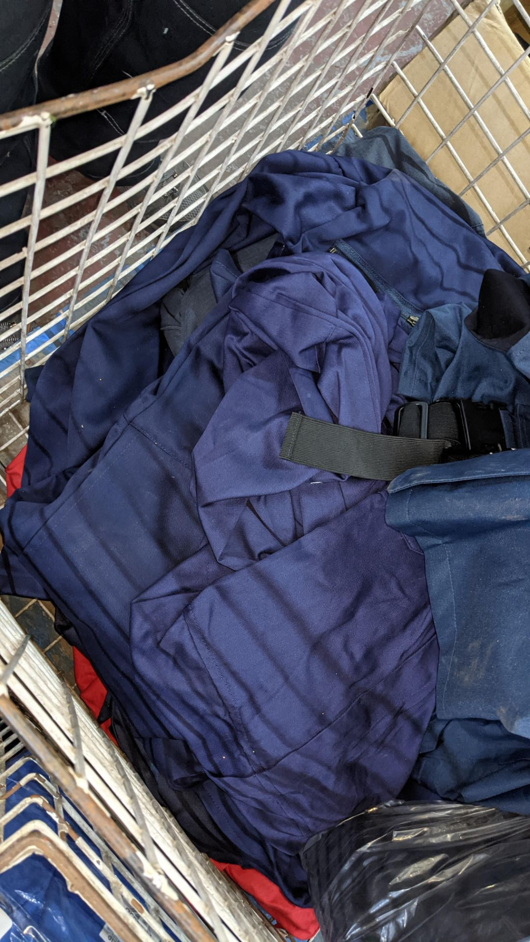 The contents of a cage of Protal flame retardant work clothing. NB cage excluded - Image 5 of 6