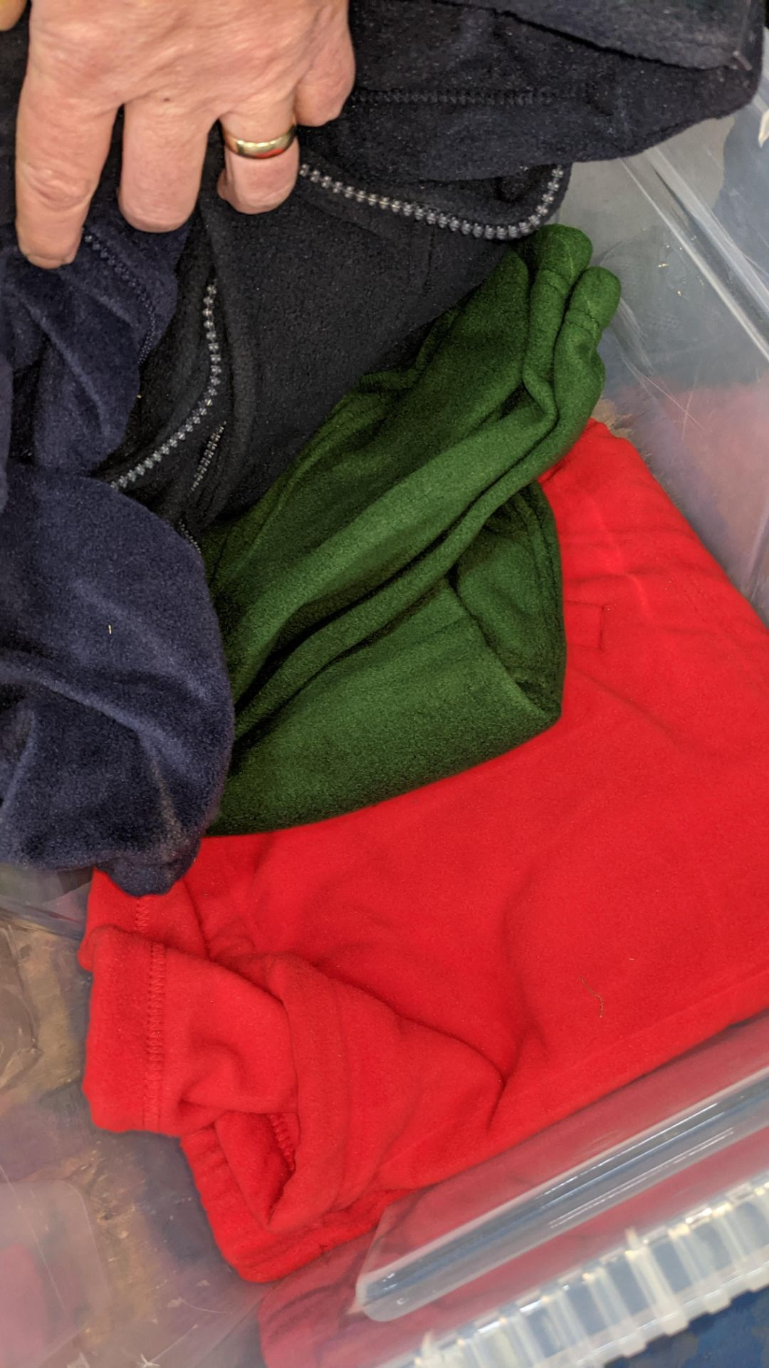 Approx 5 off assorted fleece tops - the contents of 1 large crate. NB crate excluded - Image 3 of 3
