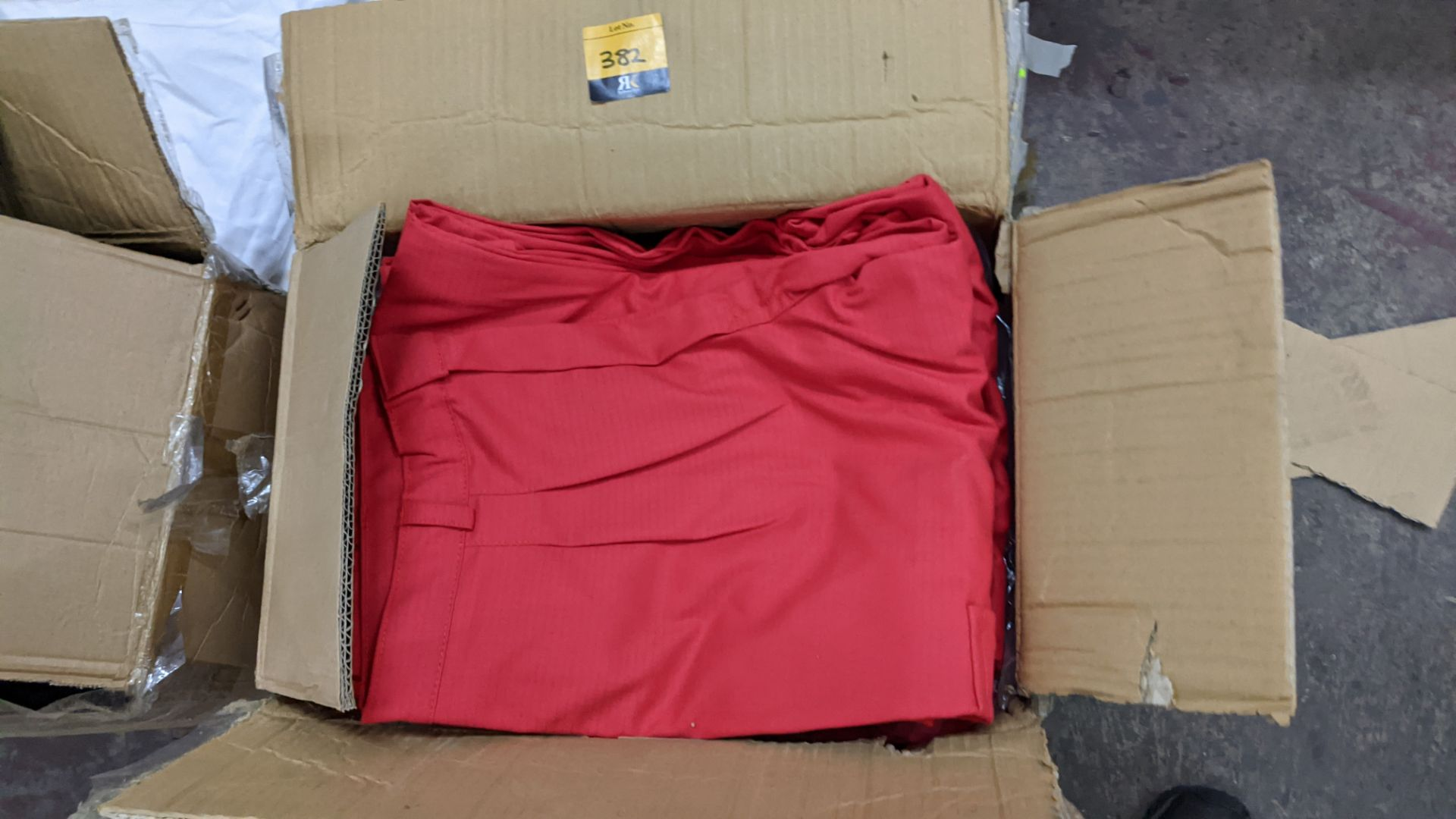 Approx 34 pairs of red trousers - Image 4 of 6